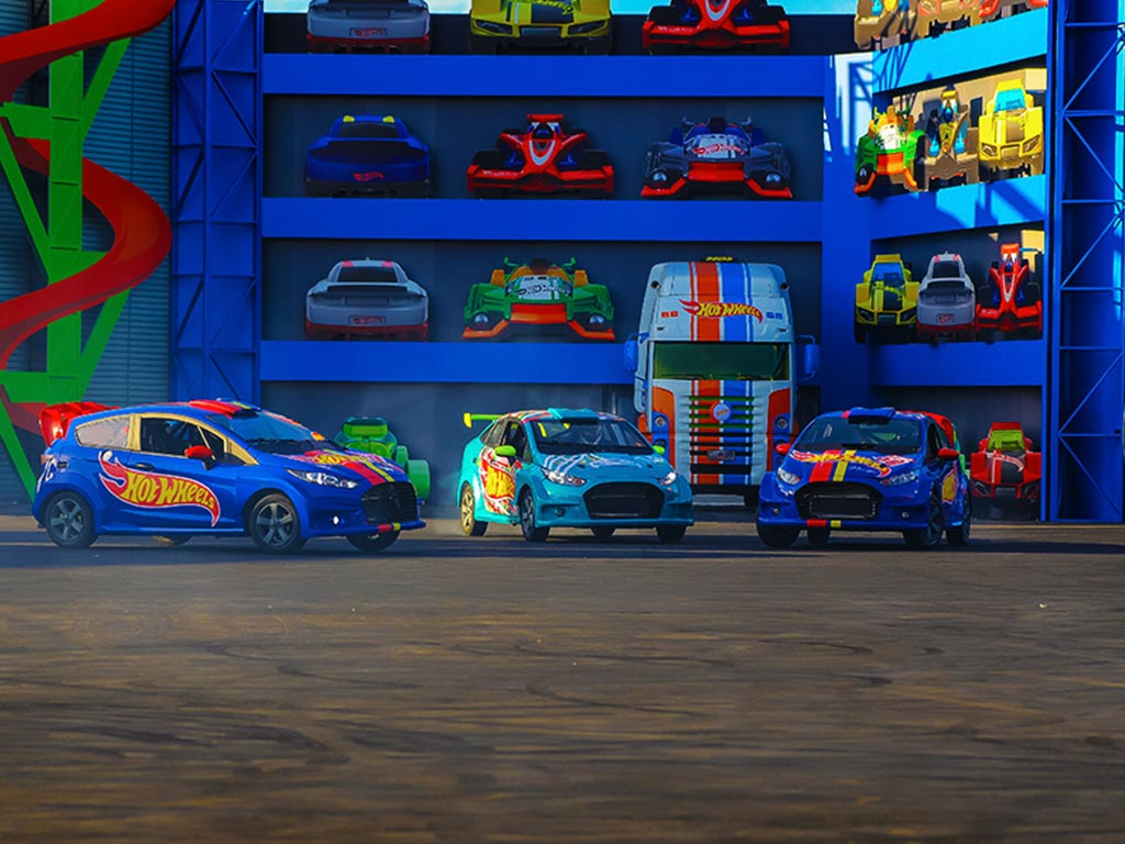 Acceso garantizado - Hot Wheels Epic Show