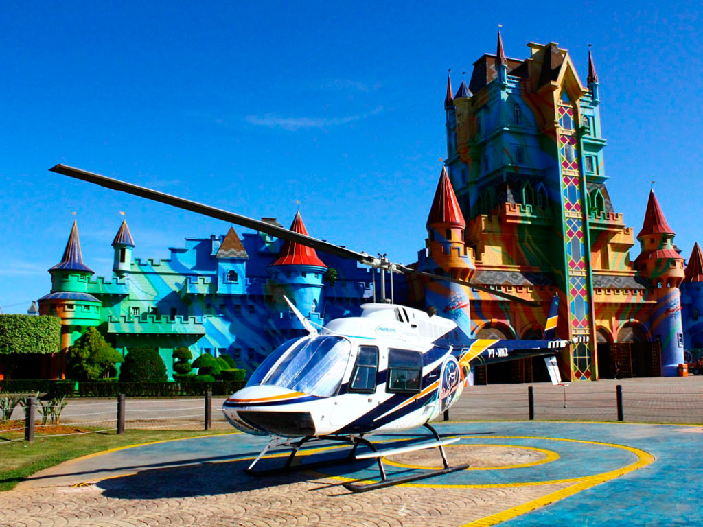 Helicopter tour - Sun Route - 05 to 07 min.
